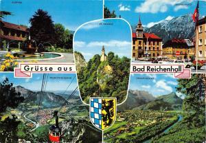 GG13896 Gruesse aus Bad Reichenhall Kurpark Predigtstuhlbahn St. Pankraz