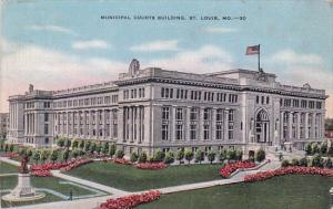 Municipal Courts Building Saint Louis Missours 1942