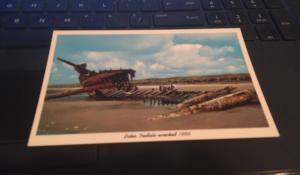 Vintage Postcard: Peter Iredale ,wrecked 1906 Oregon