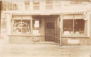 BW Woodward Cash Grocery Leominster MA 1909