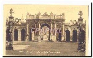 Nancy Old Postcard the & # 39arc triumph saw the Place Cartiere