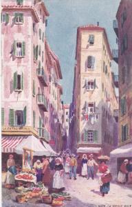 NICE, France, 1900-10s; La Vieille Ville; TUCK  # 108
