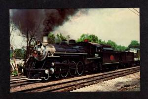 VA Savannah & Atlanta Railroad Train RADFORD VIRGINIA