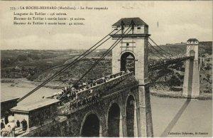CPA La ROCHE-BERNARD - Le Pont suspendu (33048)