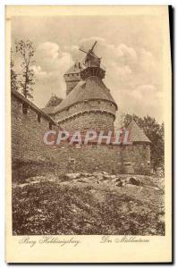 Postcard Old Mill Hohkonigsberg