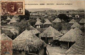 CPA AK Fortier KAEYS Quartier Indigene SÉNÉGAL (670644)