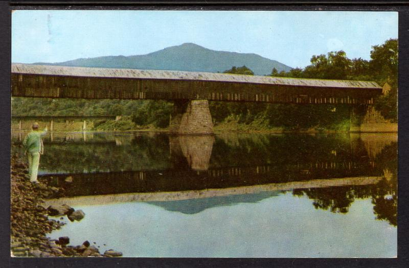 Old Toll Bridge,Ascutney Mountain,Windsor,VT