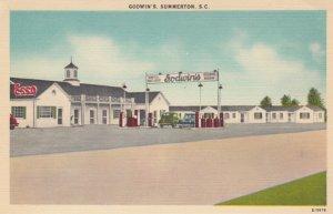 SUMMERTON , South Carolina , 30-40s ; Godwin's Grill & Dining Room, Esso Gas