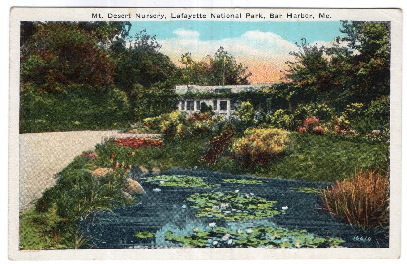 Bar Harbor, Me, Mt. Desert Nursery, Lafayette National Park