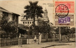 CPA AK Dakar - Rue Scene - Street Scene SENEGAL (778850)