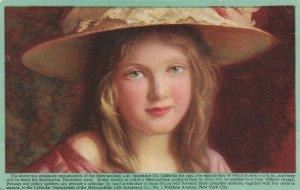 Metropolitan Life Insurance Company Calender Girl for 1910