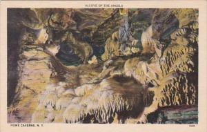 New York Schoharie County Howe Caverns Alcove Of The Angels