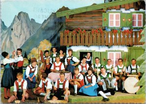 postcard Austria - Trioler Gruppe, Hotel Maria-Theresia