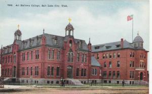 All Hallows College, Salt Lake City, Utah, 1900-1910s