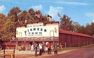 Angola Indiana~Relive the Old West~Pioneer Town Indian Village~Bow & Arrow 1950s