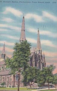 Canada Charlottetown St Dunstan's Basilica 1954