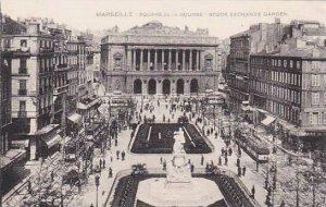France Marseilles Square de la Bourse