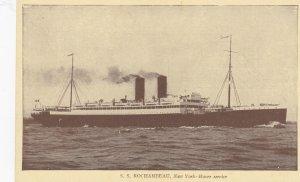 Ocean Liner S.S. ROCHAMBEAU , French Line ,1920-30s