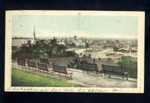 Providence, Rhode Island/RI Postcard, View From Prospect Terrace, 1905!
