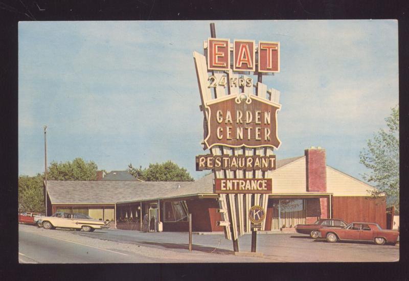 NEW STANTON PENNSYLVANIA GARDEN CENTER RESTAURANT 1965