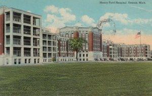 DETROIT , Michigan , 1900-10s ; Henry Ford Hospital