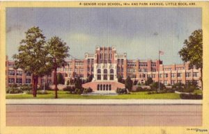 SENIOR HIGH SCHOOL LITTLE ROCK, AR 1948