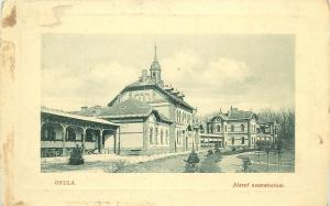 Hungary Gyula Jozsef szanatorium hospital 1910s postcard