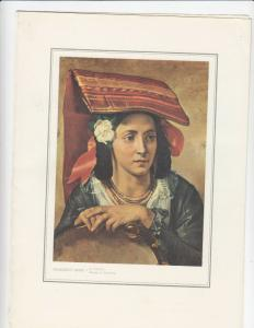 LLOYD TRIESTINO Liner Victoria Menu , 1956 ; Woman of Ciociaria