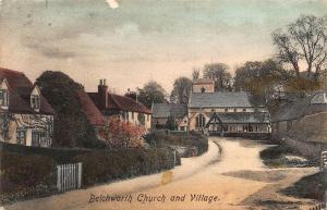 Betchworth Church and Village Street Eglise Postcard