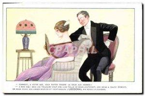 Postcard Old Advertisement Urodonal