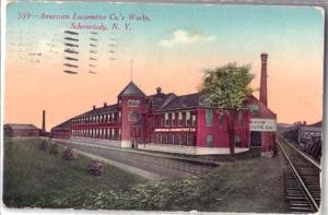 American Locomotive Co.'s Works, Schenectady NY