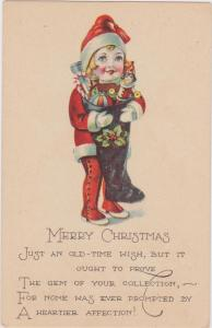CHRISTMAS: Child with Stocking , 00-10s