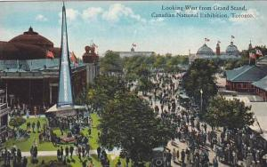 Looking West from Grand Stand, Candian National Exhibition, Toronto, Ontario,...