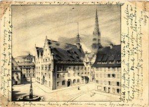 CPA AK Ulm- Rathaus GERMANY (1006996)