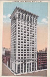 Lexington Street Building Baltimore Maryland