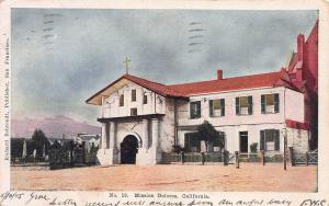Mission Dolores, San Francisco, California, Early Postcard, Used in 1905