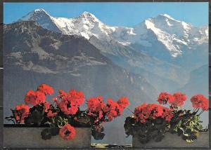 Switzerland, auf Eiger, Monch und Jungfrau, unused