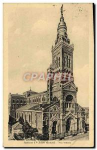 Postcard Old Basilica D & # 39Albert Lateral View