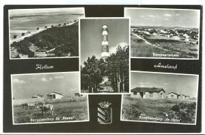 Holland, Netherlands, Hollum, Ameland, 1968 used Postcard