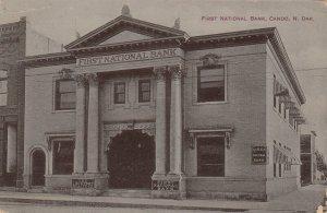 CANDO , North Dakota , 1910 ; First National Bank