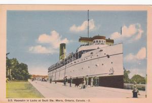 S.S. KEEWATIN , Sault Ste. Marie , Ontario , Canada , 30-40s
