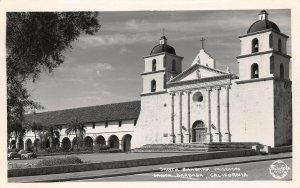 LPS31 Santa Barbara California Mission Postcard Frashers RPPC