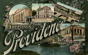 RI - Providence. Multi-View, Large Letter
