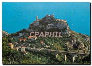 Modern Postcard Eze Village French Riviera Le Nid d'Aigle