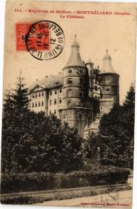 CPA Environs de Belfort - MONTBÉLIARD - Le Chateau (183043)