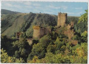 Ehrenburg bei Brodenbach (Mosel), unused Postcard