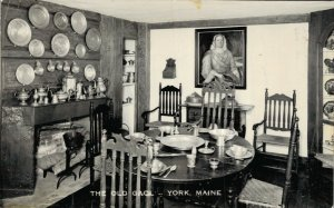 USA The Old Gaol York Maine RPPC 06.13