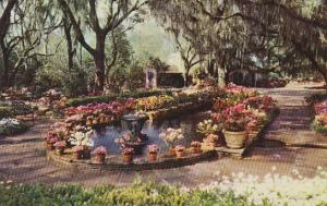 Alabama Mobile Bellingrath Gardens Fountain And Pool