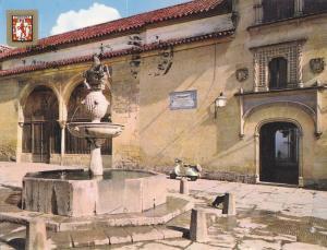 Postal 61215 : Cordoba. Vista de la Plaza del Potro y Museo Romanico