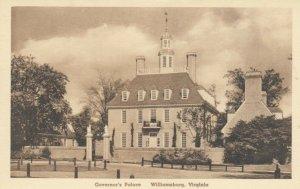 WILLIAMSBURG , Virginia, 1910s ; Governor's Palace